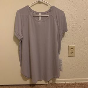 NWT Open Up Tie Back Tee